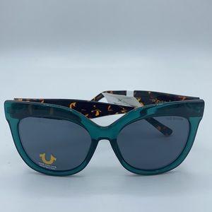 True religion turquoise Sunglasses